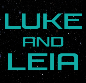 Luke and Leia from